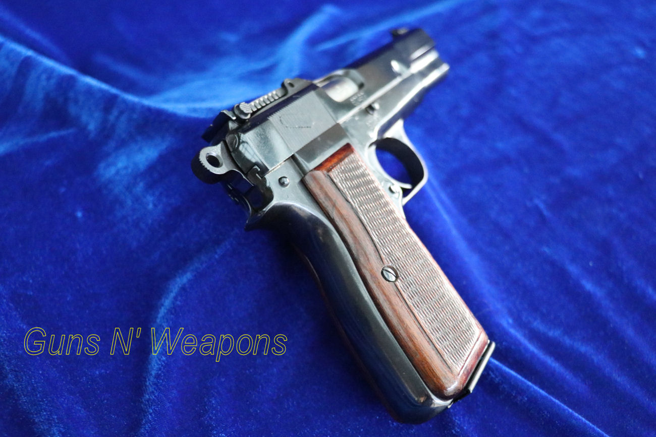 Browning P35 9mm Fabrique Nationale D Armes Ww2 German