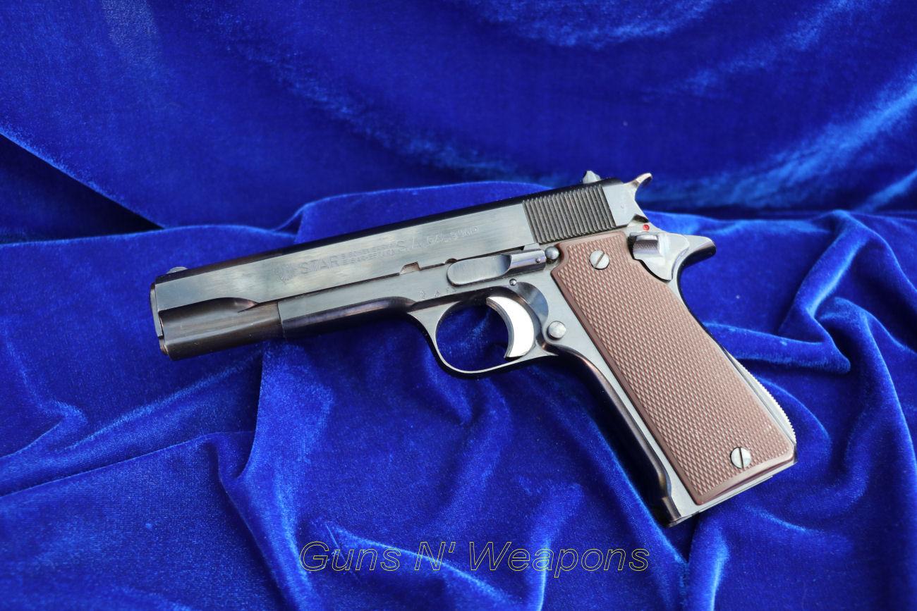 Star Auto Parts >> Star Super B 9mm Semi Auto Pistol | Guns N' Weapons