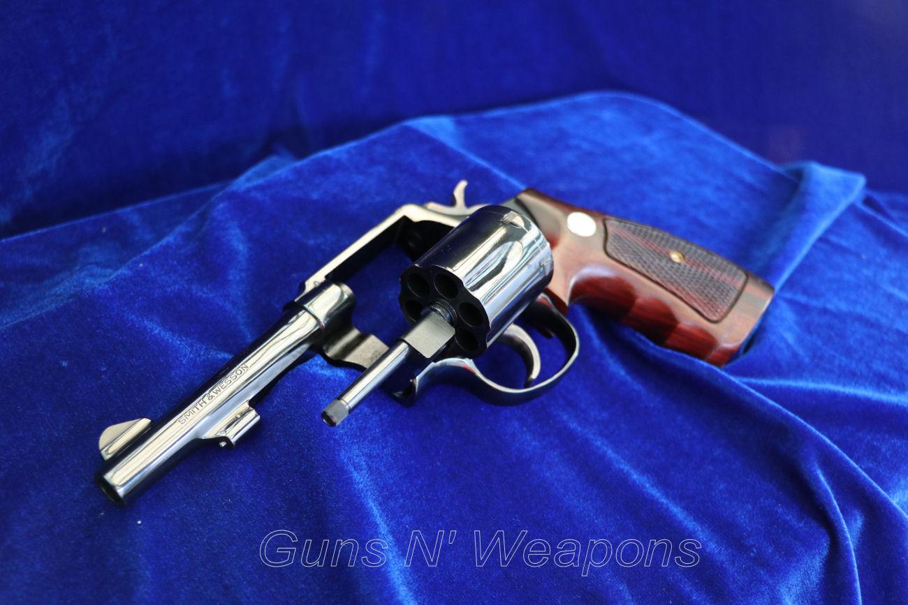 Smith & Wesson Model 10 4″ Barrel 38Spl Revolver