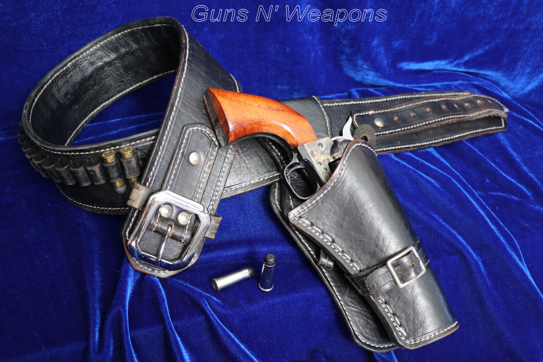 El Paso Style Western Single Right Hand Quick Draw Holster Rig